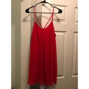 Dee Elle Red Dress